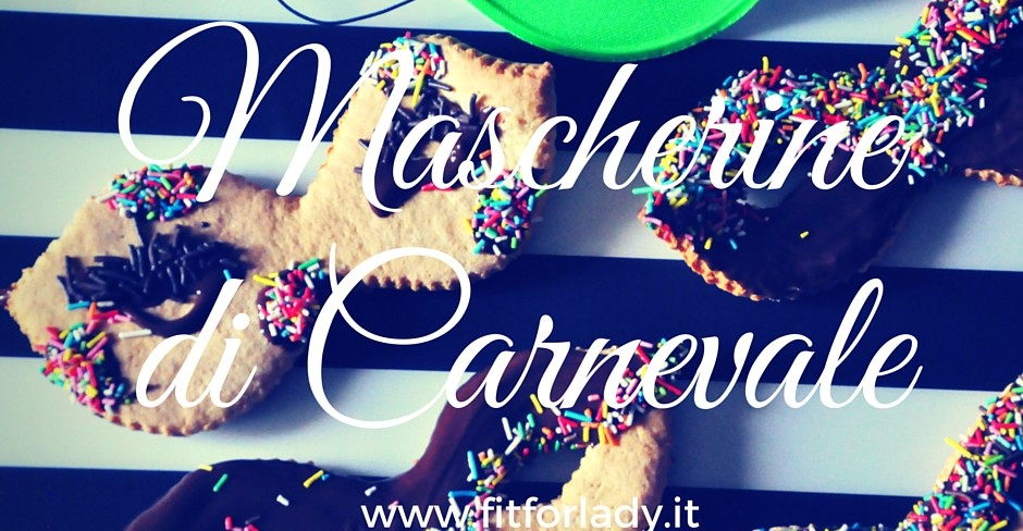 maschere carnevale Palestra Fit for Lady