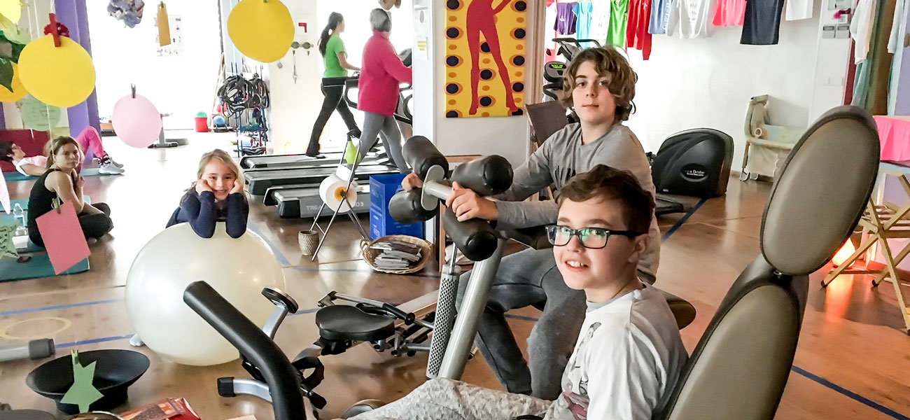 FIT FOR LADY, LA PALESTRA A MISURA DI MAMMA!