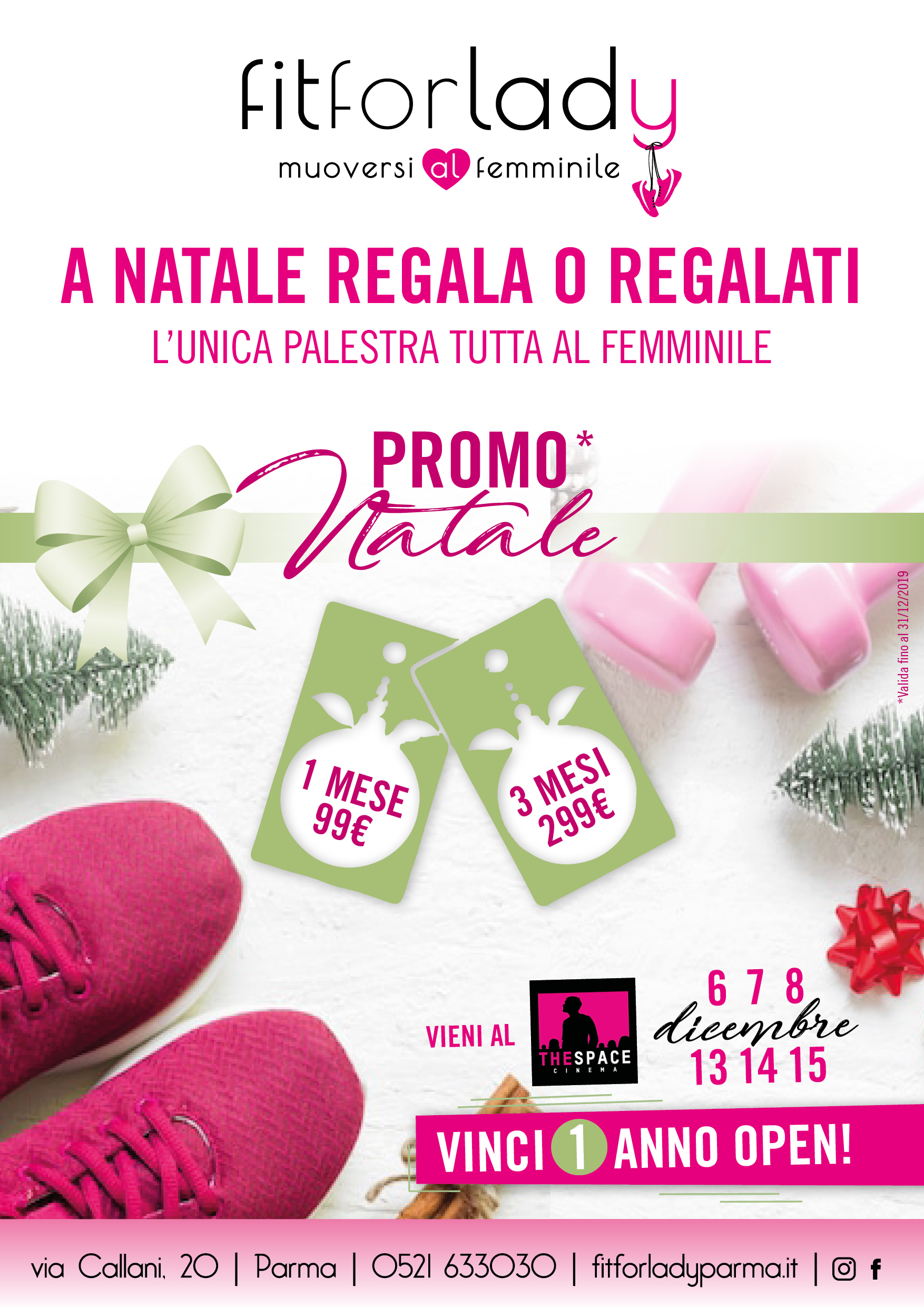 A NATALE REGALATI FIT FOR LADY
