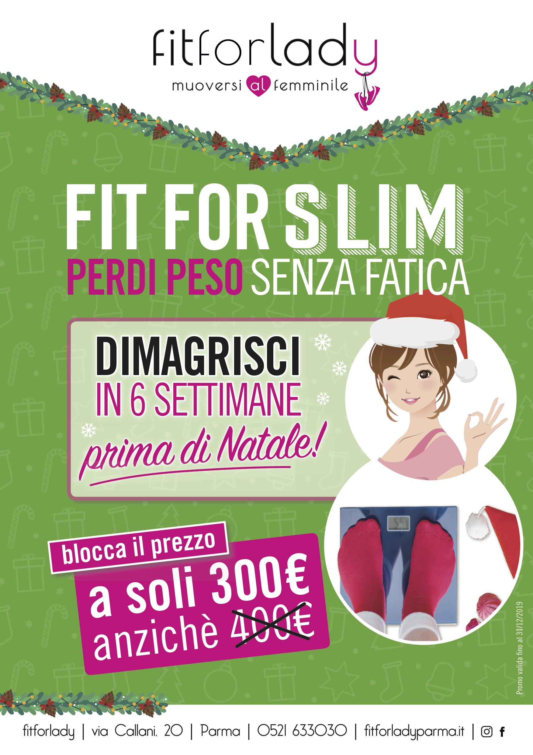 FIT FOR SLIM – Operazione Natale